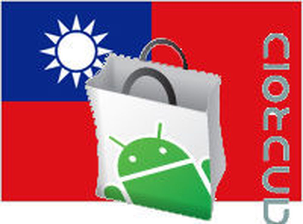 Stopper salg av Android-apper i Taiwan