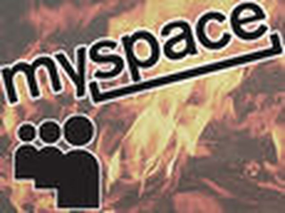 Enden er nær for Myspace