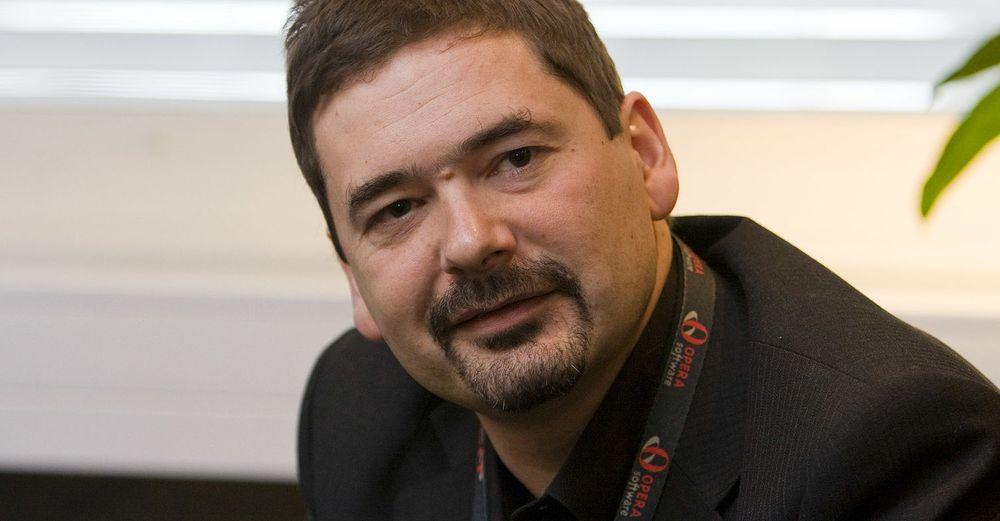 Sjokkexit: Opera-gründer Jon von Tetzchner sier meldingen om at han slutter kom overraskende på de ansatte.