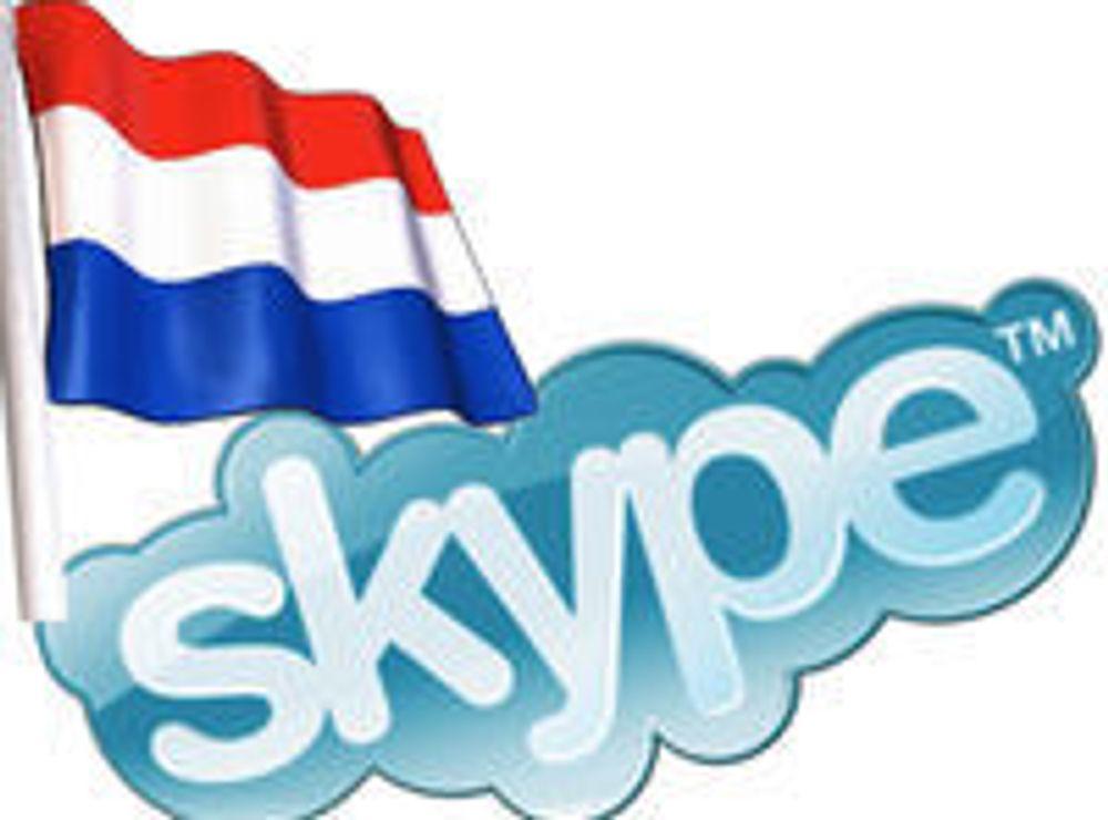 Må godta gratis Skype over mobil