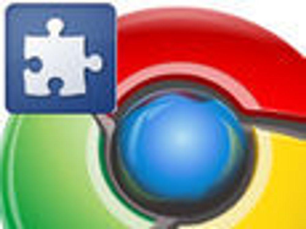 Chrome har fått utvidelser