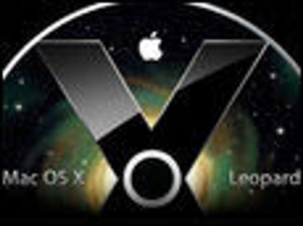 Omfattende oppdatering til Mac OS X Leopard