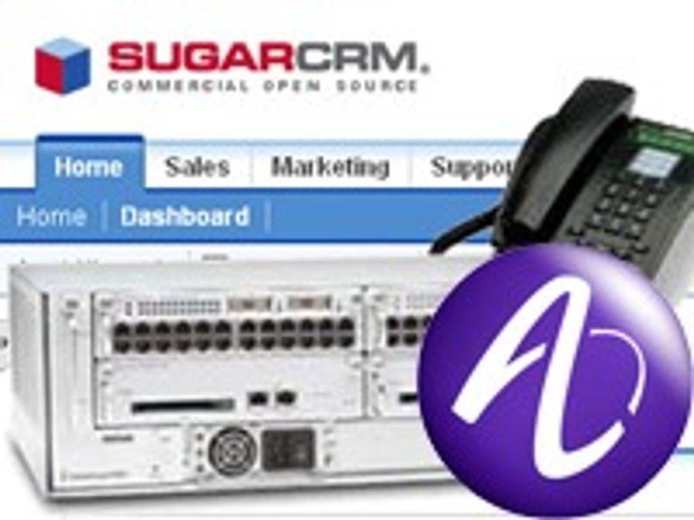 Tilbyr CRM med telefoni til SMB-markedet