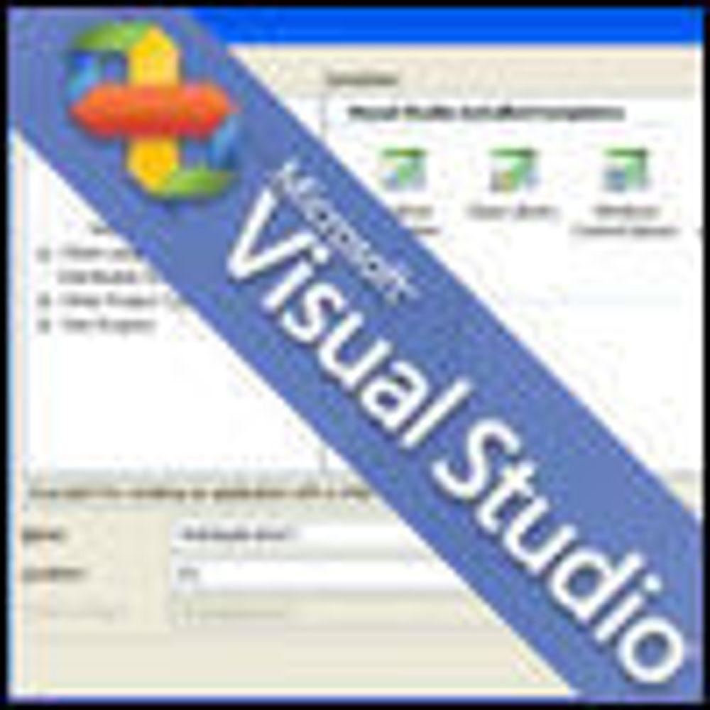 Ny Visual Studio klar for prøvekjøring