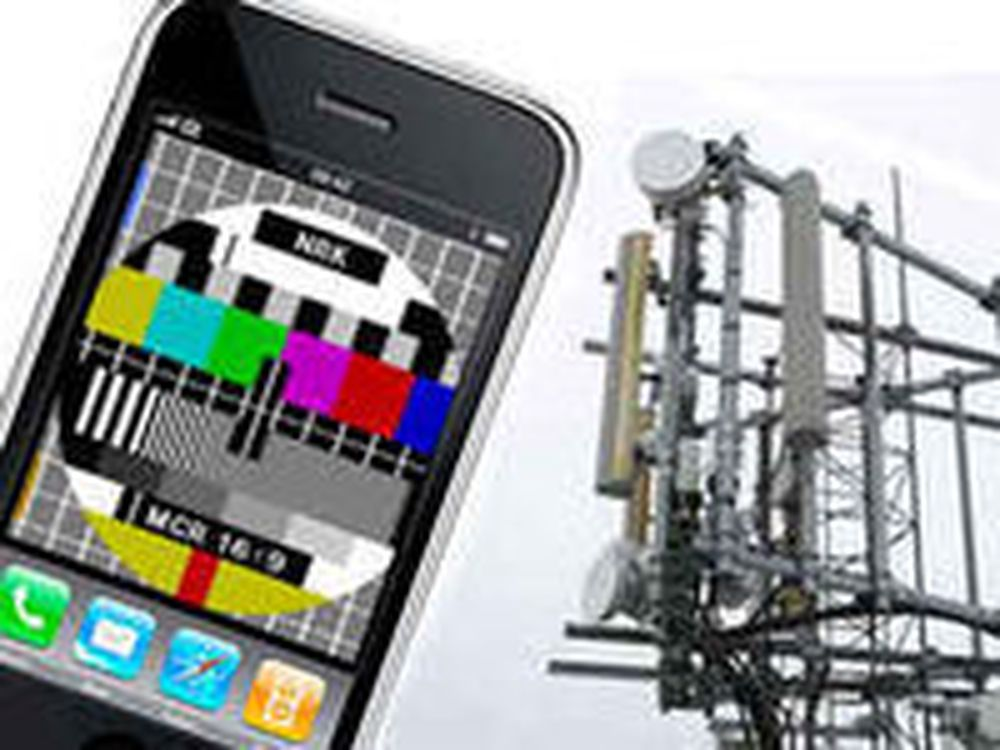 Norsk mobil-tv er på lufta