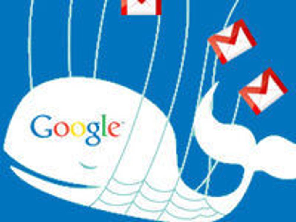 Googles problemer ble mye omtalt blant brukere på Twitter. (Fotomontasje: Ivanlanin CC)