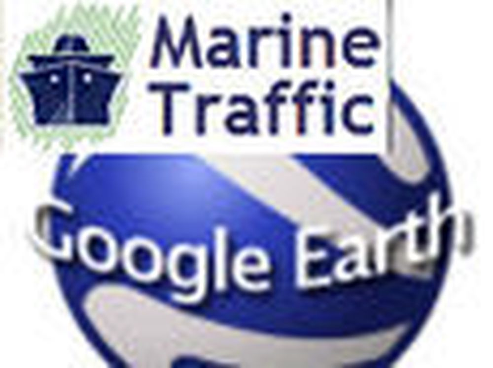 Følg skipstrafikken i Google Earth