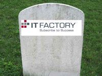 IT Factory felt av 64 år gammel blogger