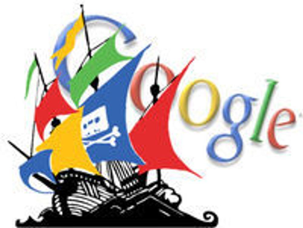 Google anbefaler torrent-søk