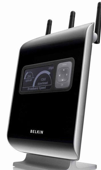 En annerledes WLAN-ruter fra Belkin