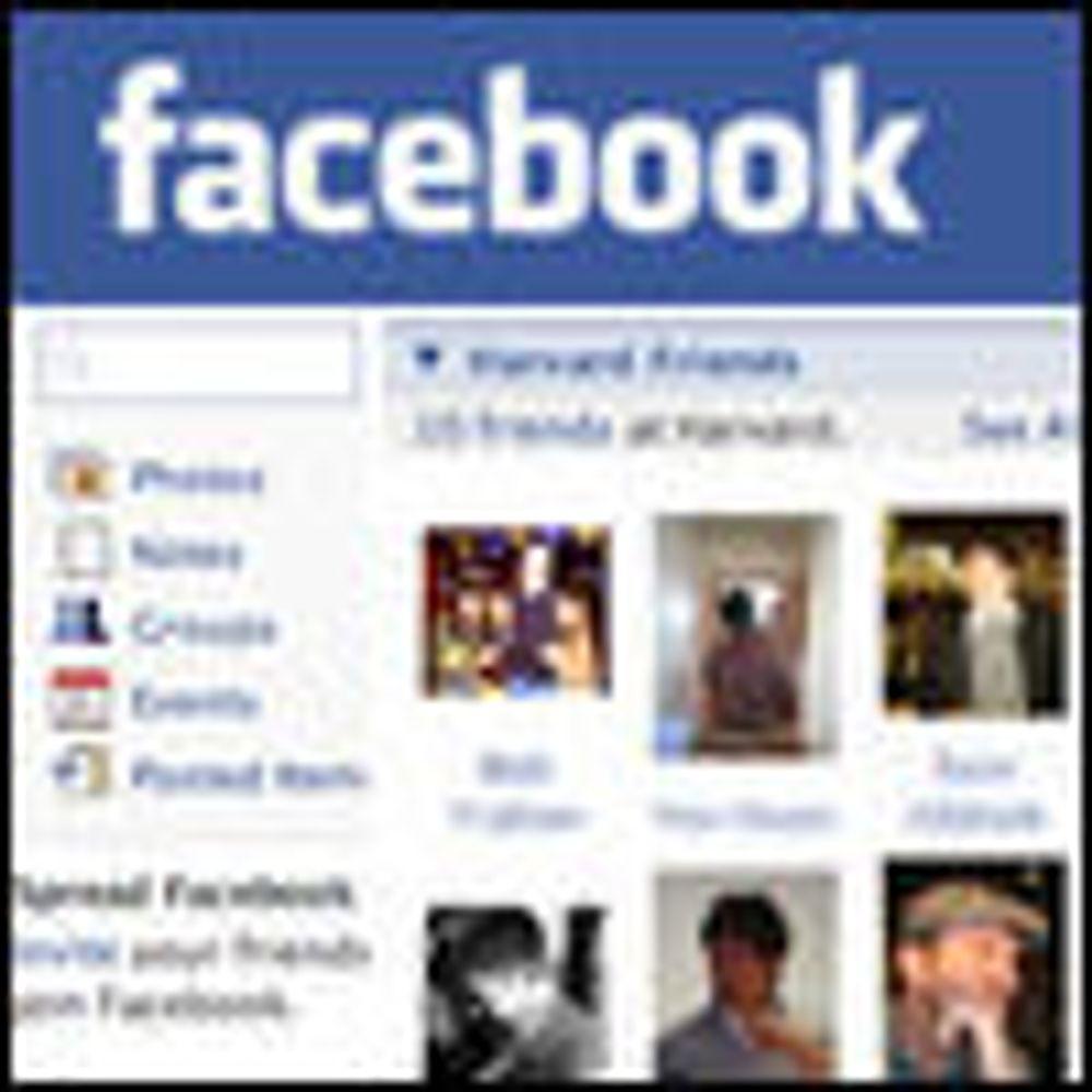 Facebook-reklame skal analysere brukerprofiler