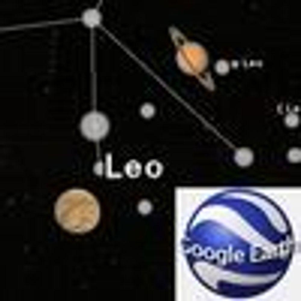 Jorden ikke nok for Google Earth