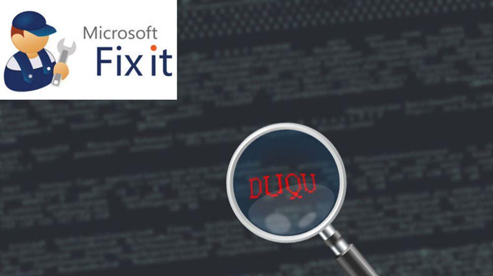 Microsoft hasteutgir en midlertidig fiks mot sårbarheten som utnyttes av Duqu-trojaneren.