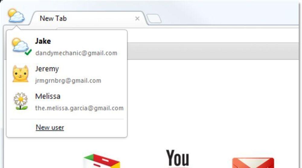 Google Chrome blir mer personlig