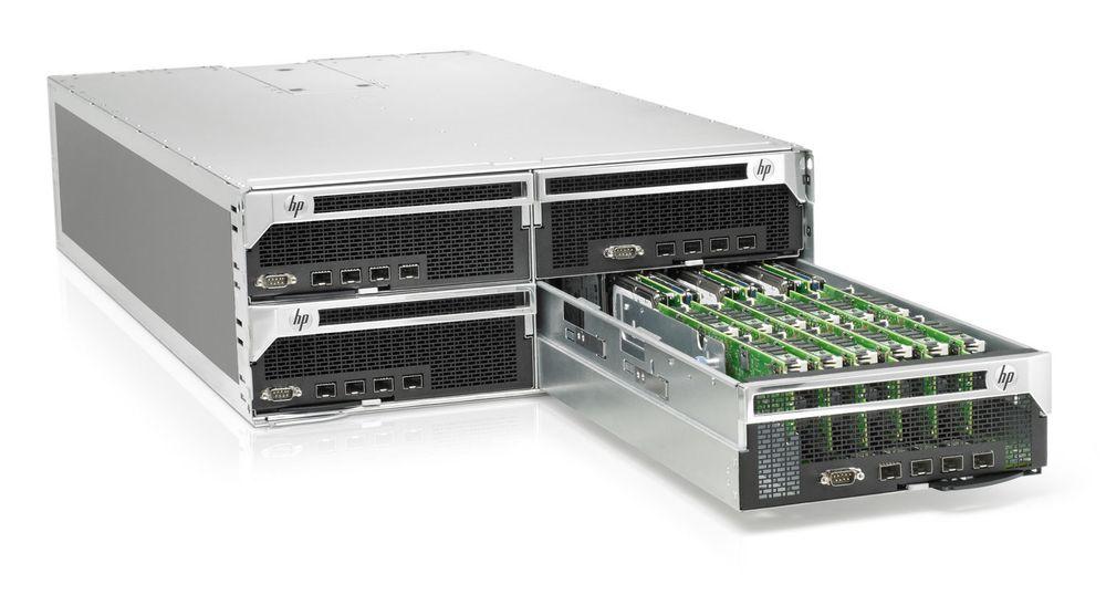 HPs ny serverarkitektur bygges opp etter en hyperskalerbar arkitektur. I denne første varianten inneholder hver skuff 36 servere drevet av lavenergiprosessorer av typen Calxeda EnergyCore ARM Cortex.
