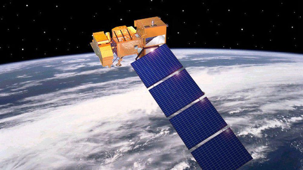USA hevder i en rapport at NASA-satellittene Landsat-7 (bildet) og Terra AM-1 ble hacket fra den norske bakkestasjonen på Svalbard. De antyder samtidig at Kina står bak. Myndighetene i Beijing avviser påstandene.