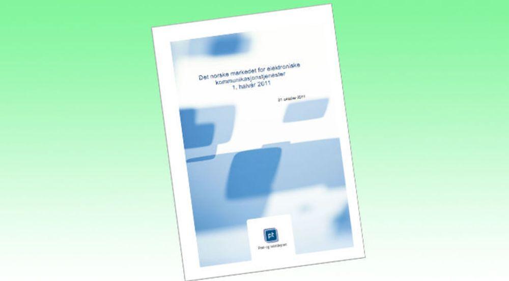 Rapporten fra Post- og teletilsynet dokumenterer endringer i hvordan nordmenn forholder seg til digitale tjenester.