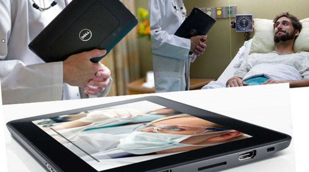 Liten tvil om hvilken yrkesgruppe Dell ønsker å nå med sitt nye nettbrett, Latitude ST.