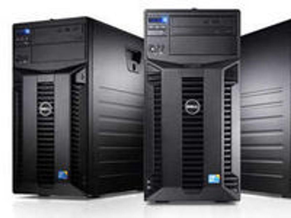 Servere er blant det som øker mest hos Dell for tiden.