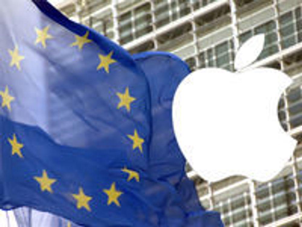Angriper Apples tvangstrøye for utviklere