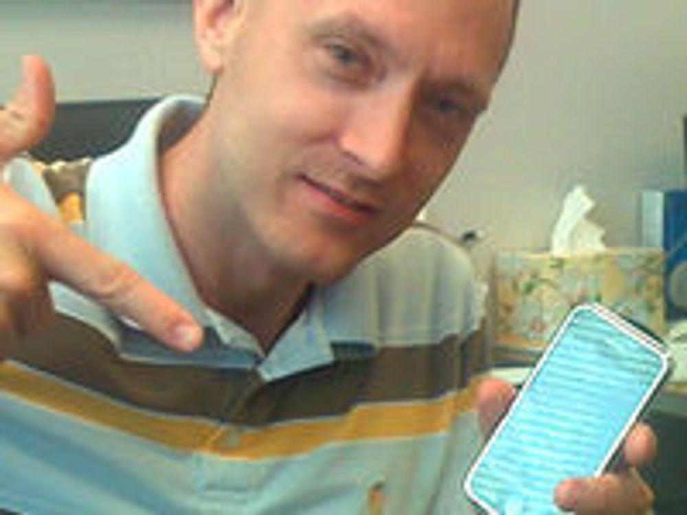 Skremt: Dr. Charlie Miller er en kjent Mac- og iPhone-hacker. Han har også fem års fartstid fra det amerikanske etterretningsorganet NSA.