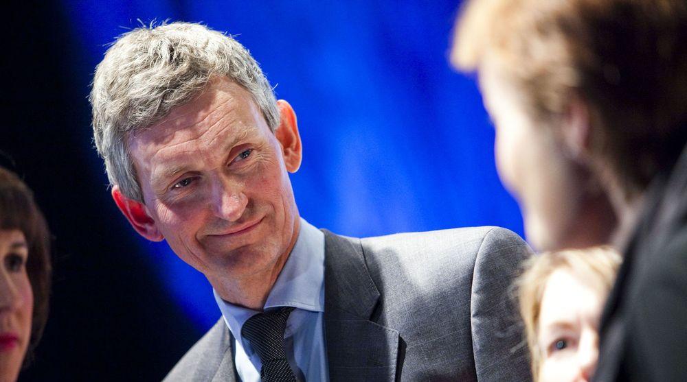 Accenture, her med Norges-sjef Nils Øveraas, leverte svært gode resultater for sitt regnskapsmessige andre kvartal.