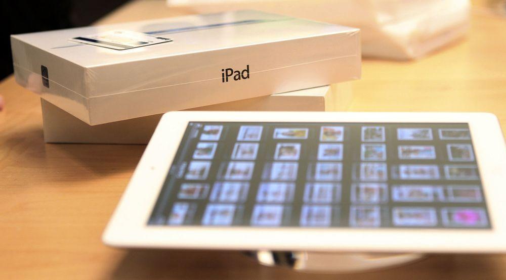 Nye iPad solgte tre millioner i løpet av en drøy åpningshelg.