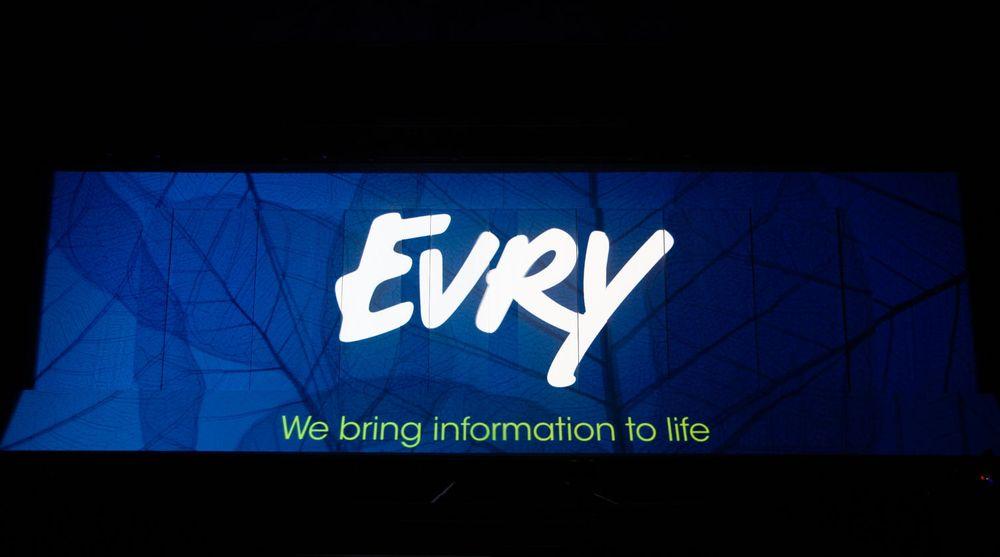 På et stort arrangement lørdag kveld fikk EDB Ergogroup sitt nye navn, Evry.
