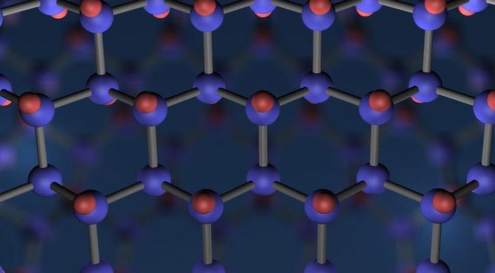 Grafen er et karbonbasert materiale hvor molekylene danner en struktur som minner om bikaker eller hønsenetting med en tykkelse tilsvarende ett atom. Materialet har blant annet svært god ledningsevne.