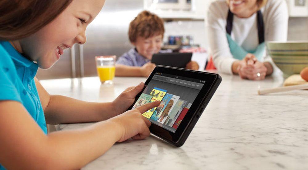 Amazons Kindle Fire var i fjerde kvartal det mest solgte nettbrettet basert på Android.