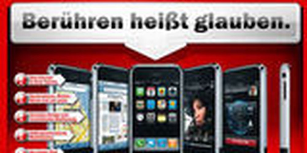 Startskudd for iPhone i Europa