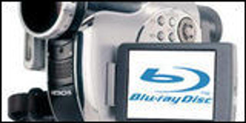Hitachi kan bli først med Blu-ray-kamera