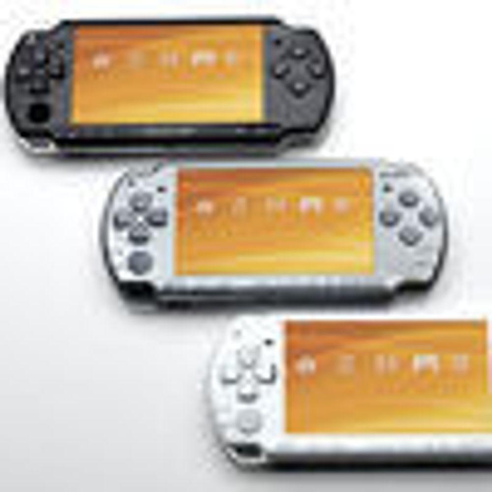 Sony avduket oppgradert PSP