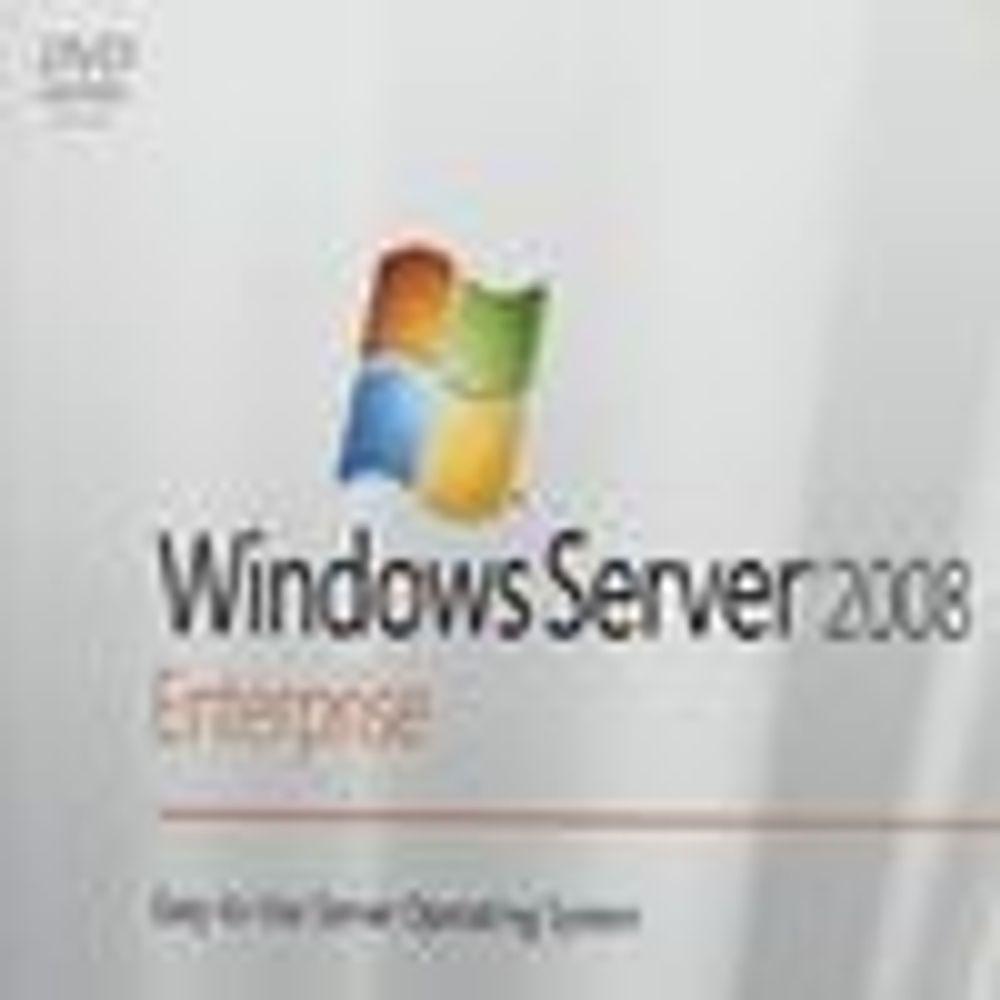 Bekrefter når Windows Server 2008 lanseres