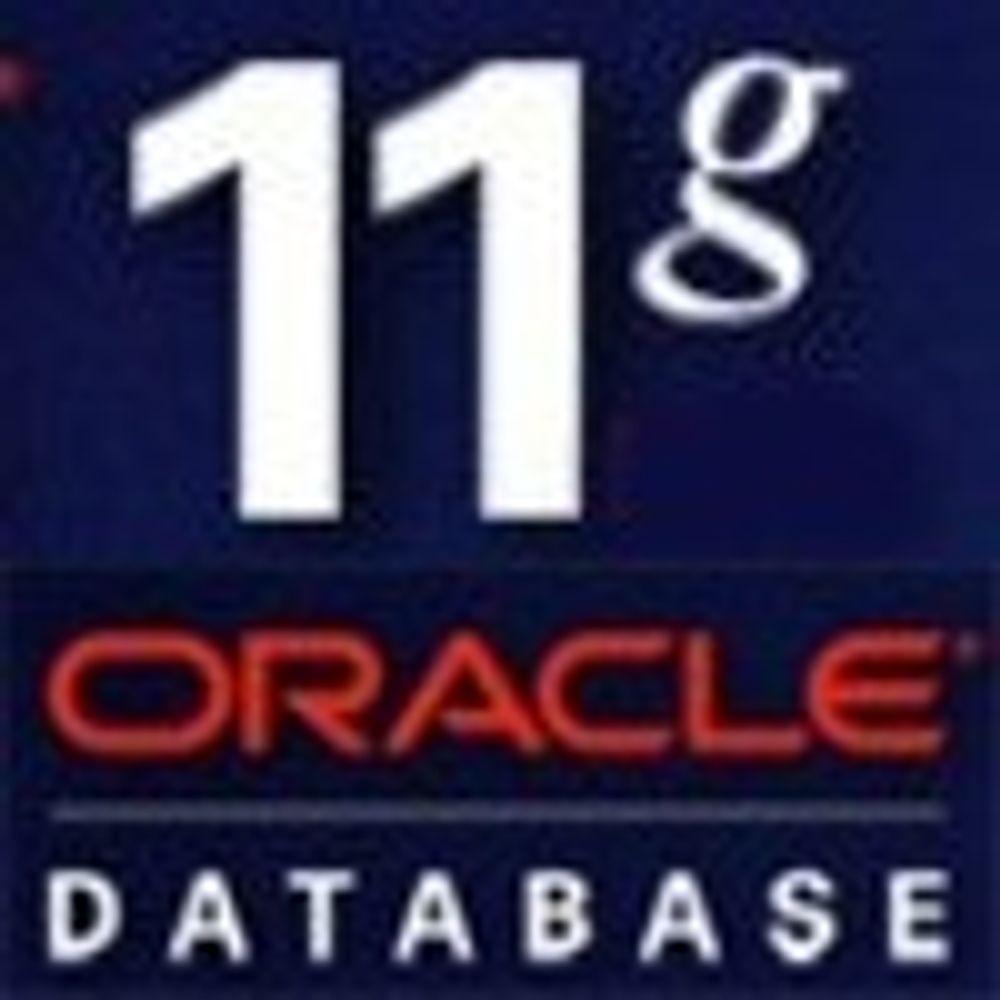 Ingen rush for Oracle Database 11g