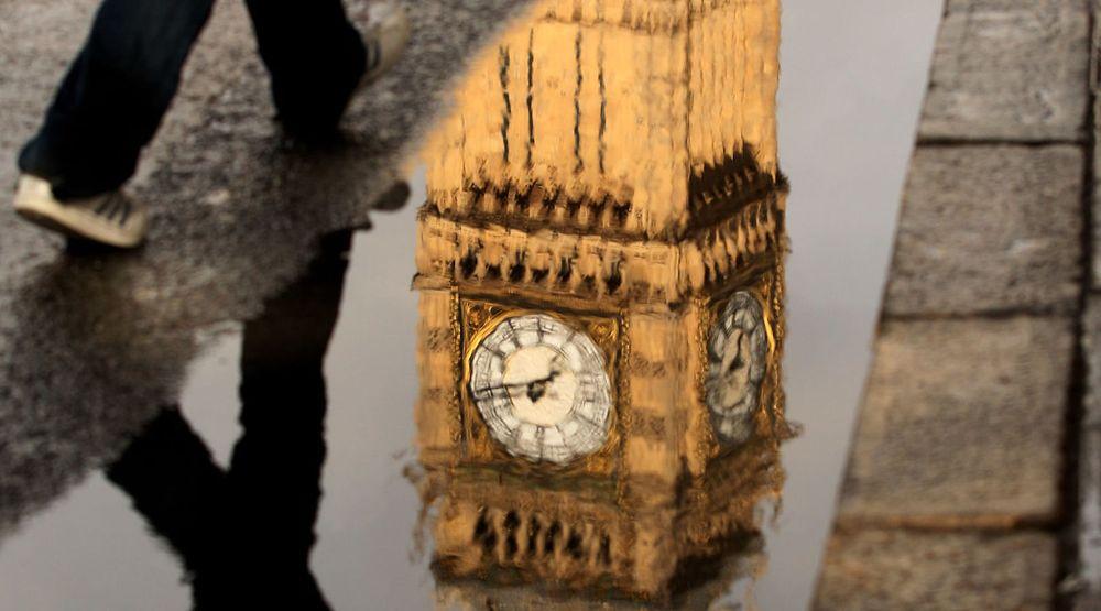 Skuddsekundet rammet en rekke større nettsteder. Her fra berømte «Big Ben» i London.