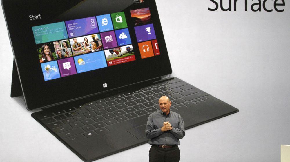 Microsofts nye Surface-nettbrett kommer i to versjoner. En med ARM-brikke og operativsystemet Windows RT. Det andre får Windows 8 og x86-arkitektur. HP har nå bestemt seg for å vente med ARM-baserte nettbrett.