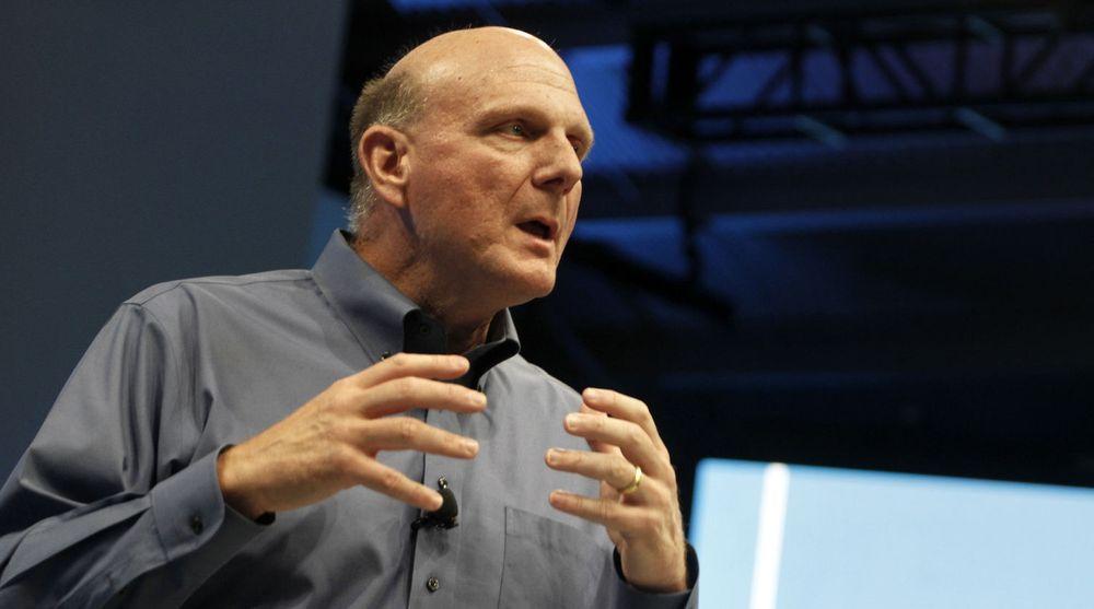 - Vi lager programvare som bedrifter trenger og som folk elsker, sier Microsoft-toppsjef Steve Ballmer i forbindelse med oppkjøpet av Yammer.