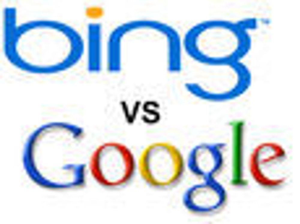 - Google-sjef frykter Bing