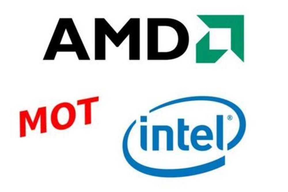 AMD tar på nytt markedsander fra Intel