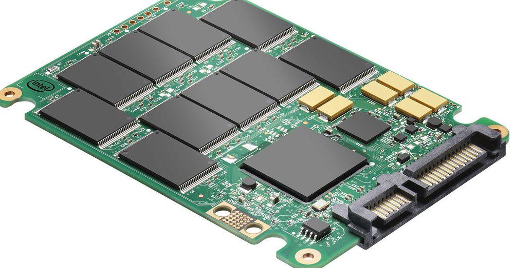 Innmaten i Intels nyeste SSD-er
