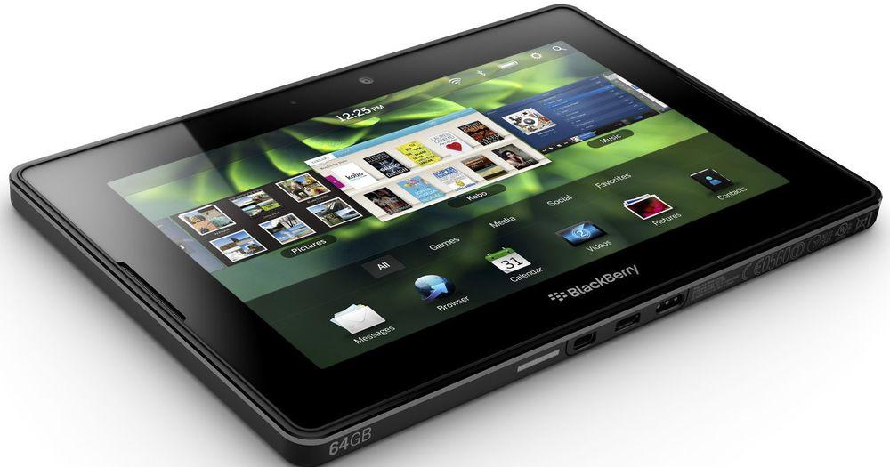 RIMs kommende BlackBerry PlayBook.
