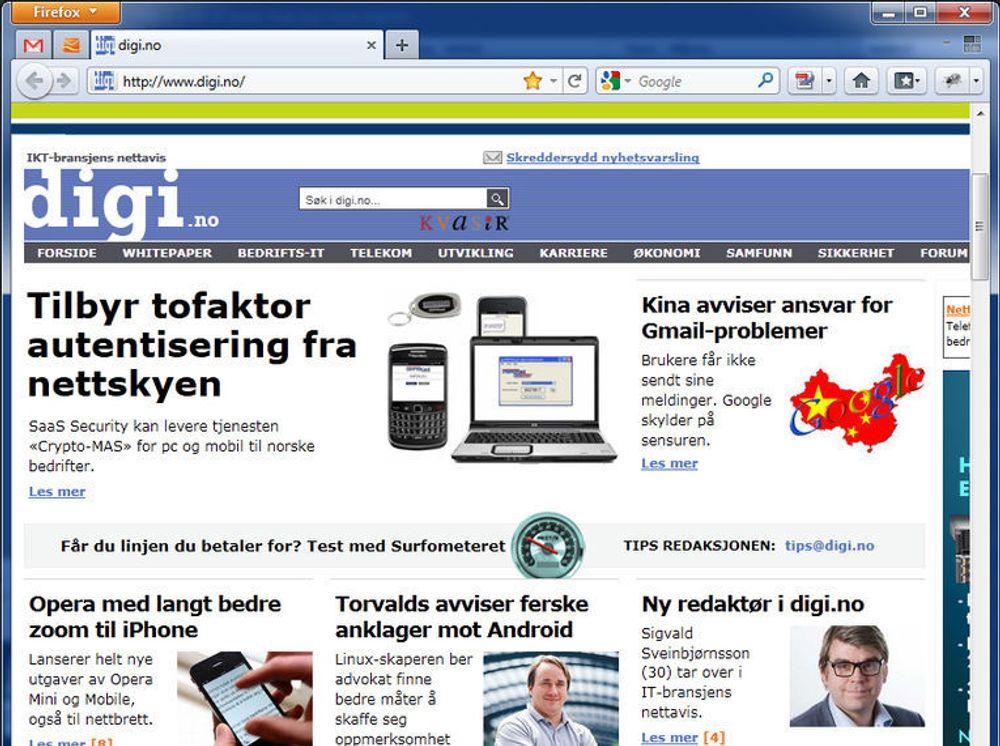 Firefox 4 med raskere webgrafikk til alle