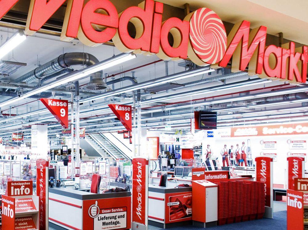 Bilde av tysk Media Markt-butikk