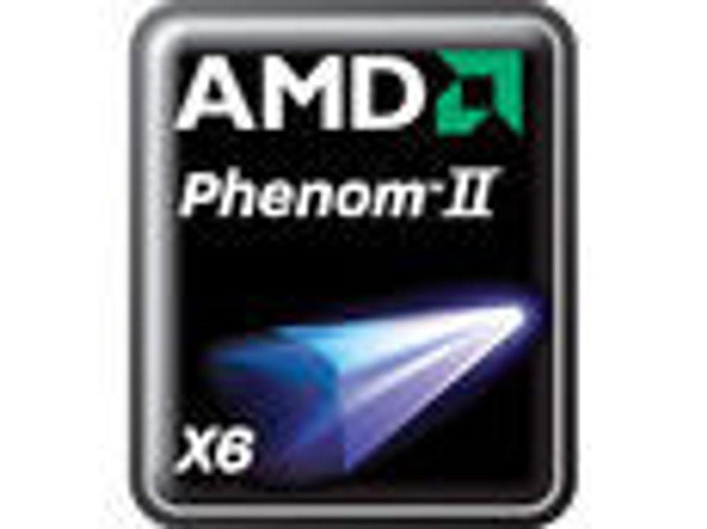 AMD lanserer sekskjernet Phenom II
