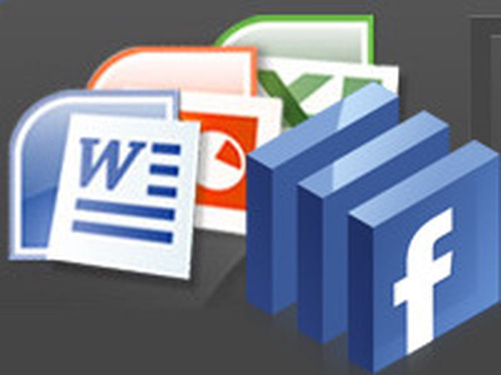 Microsoft integrerer Office med Facebook