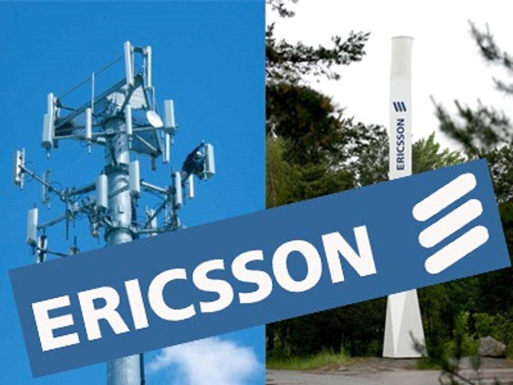 Omsetningen svikter hos Ericsson