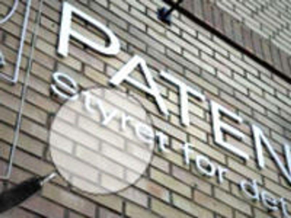 Den nye tid erobrer Patentstyret