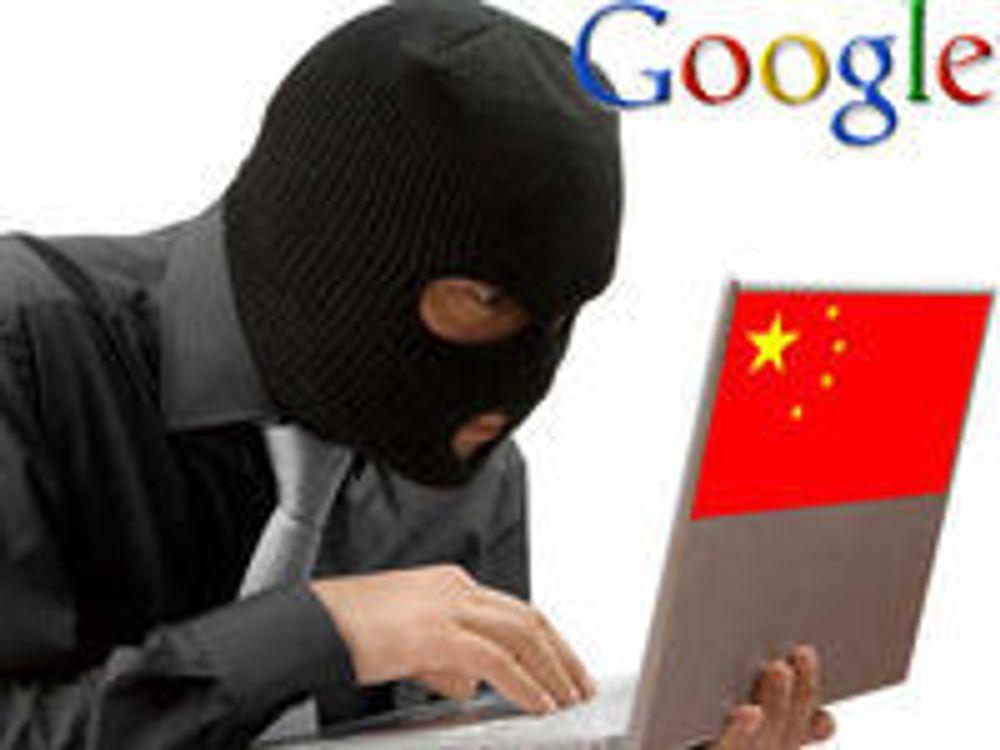 - Googles tilgangssystem ble «stjålet»