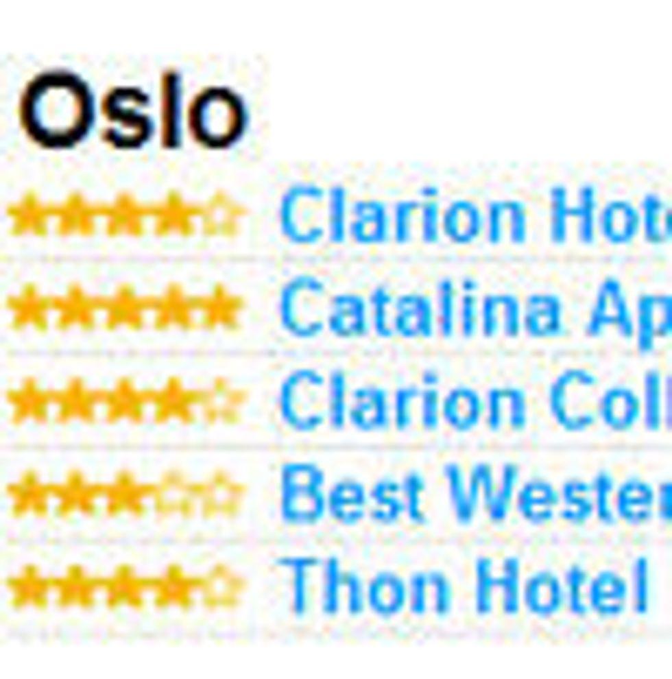 Billigere hotell i Norge med utenlandsk søk